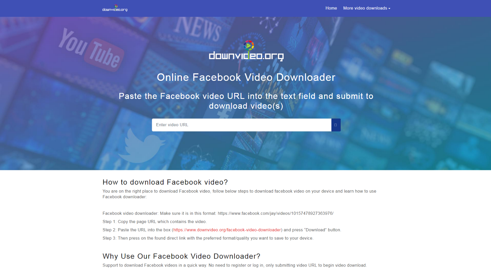 facebook video download iphone online
