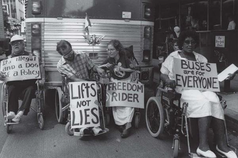 the disability rights movement keeping the momentum going