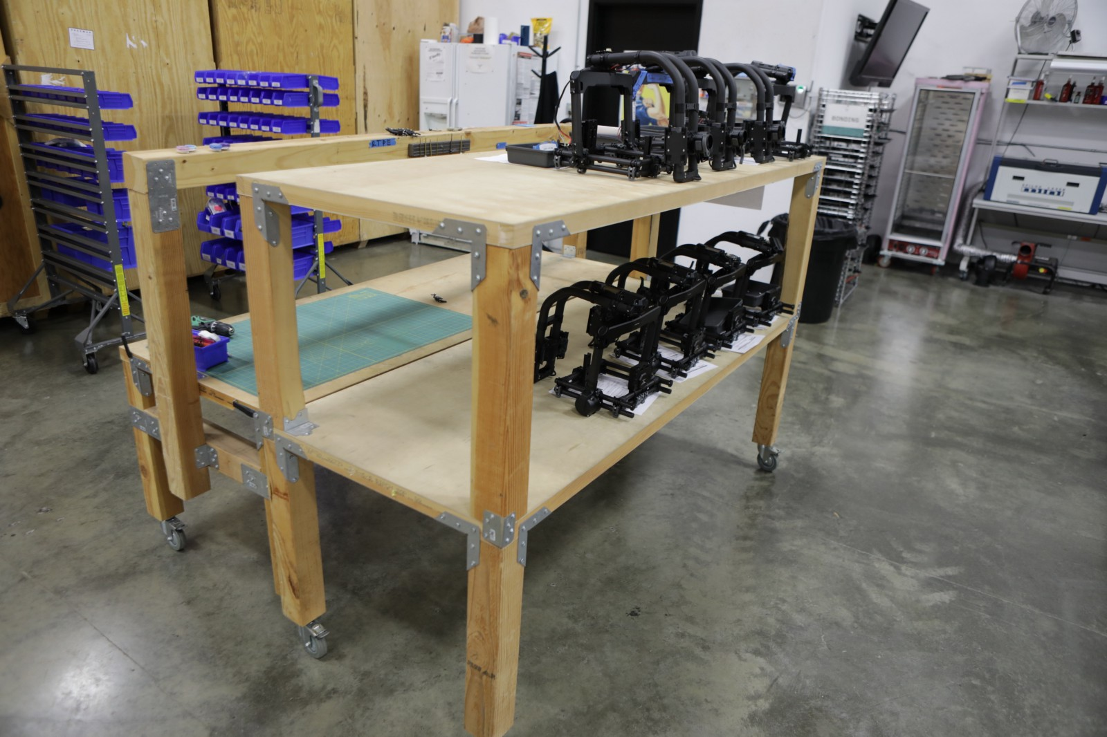 In the end this created a desk which is rigid robust and makes you feel great sitting at it. It\u0027s easy to move all over the warehouse and can be adapted ... & Door Desk \u2014 A Startup\u0027s Best Friend \u2013 Every Axis
