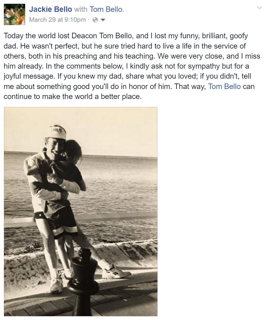 friends dad passed away