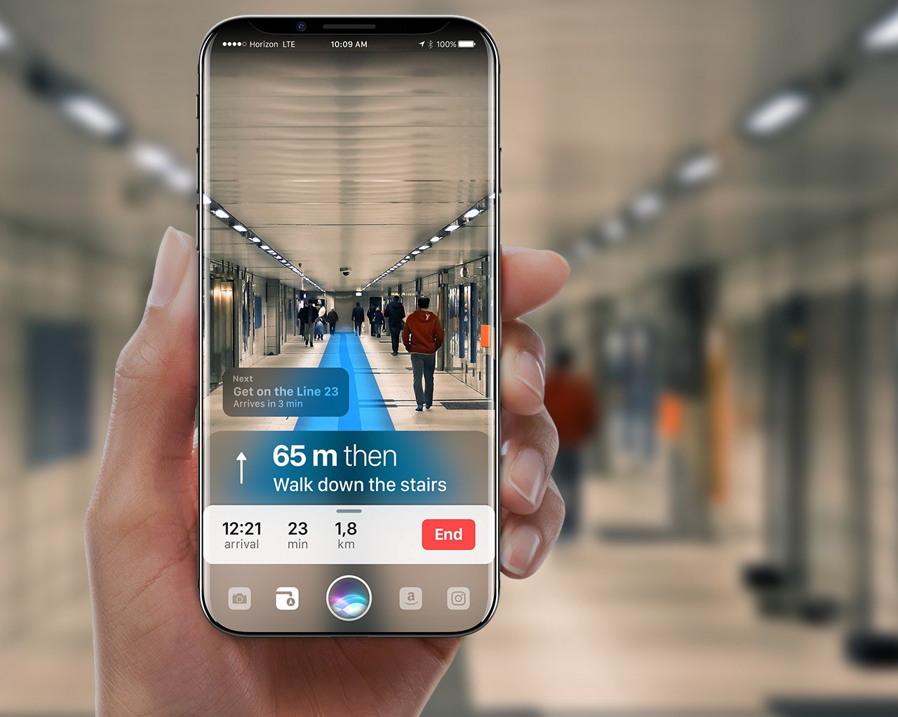 future technology in mobile phones. iphone ar mockup. // source: gábor balogh future technology in mobile phones