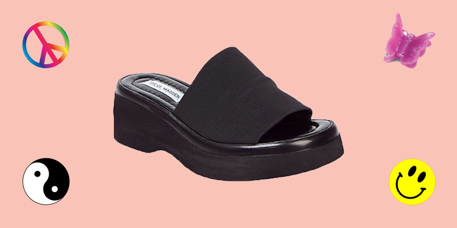 """86492906355f Important news recently made the rounds  Steve Madden is relaunching its  classic """"slinky"""" platform sandal. If you existed in the  90s or early  aughts"""