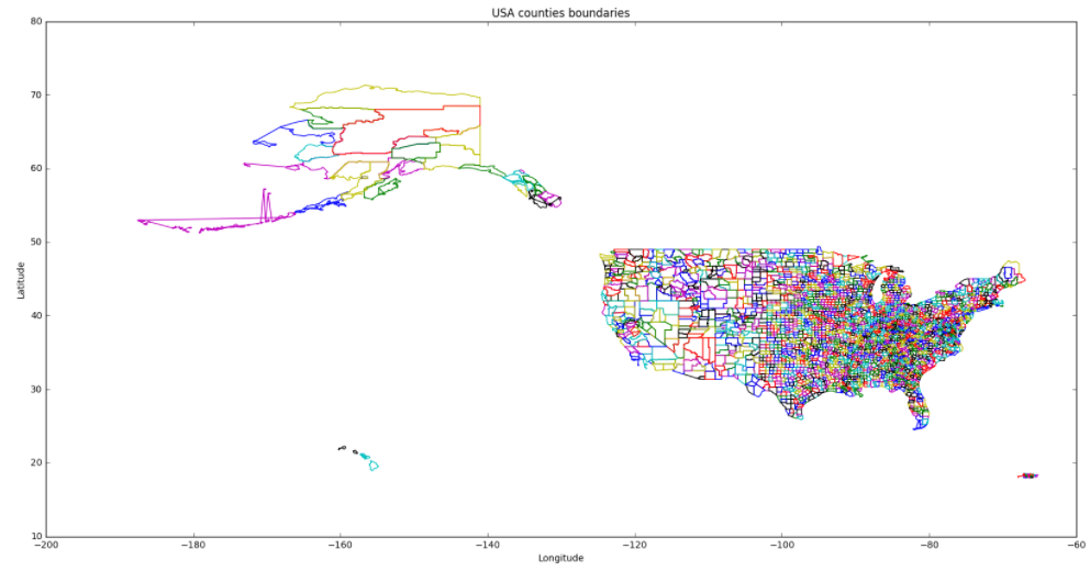 Using Open Data Shapefiles To Draw On Your Apps Maps - Usa map you can draw on