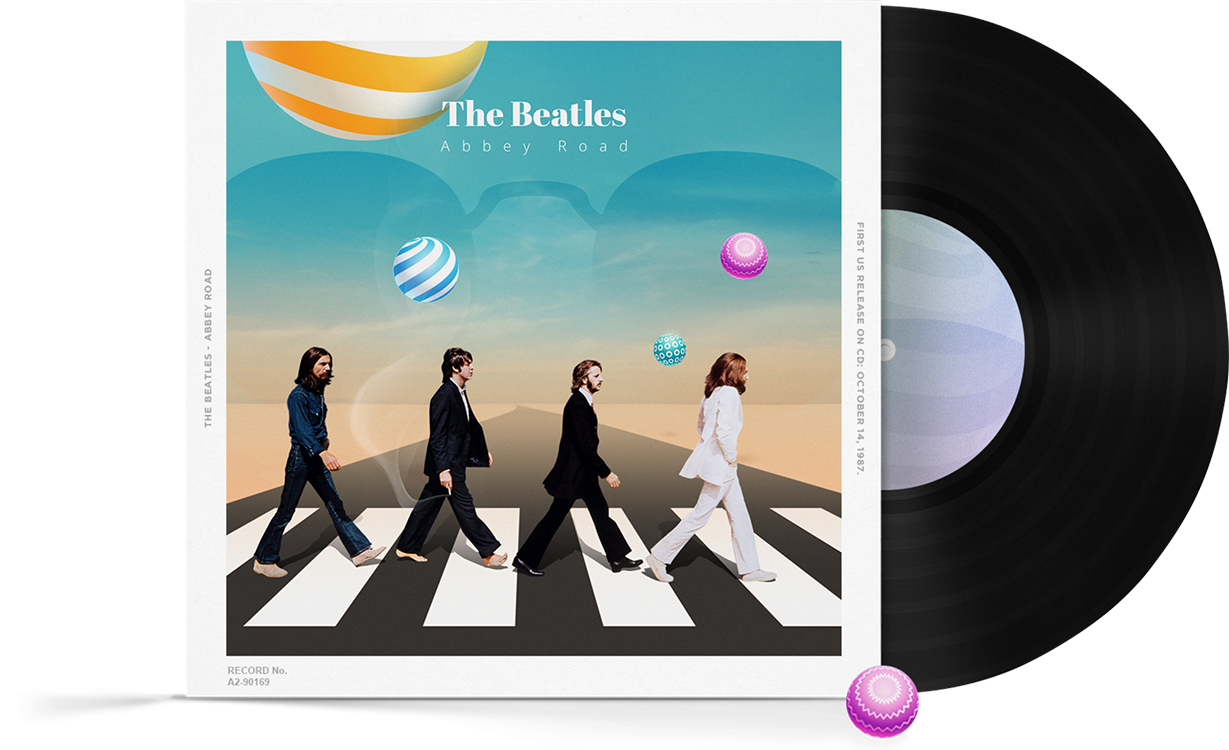 top young visual artists reimagined iconic album covers