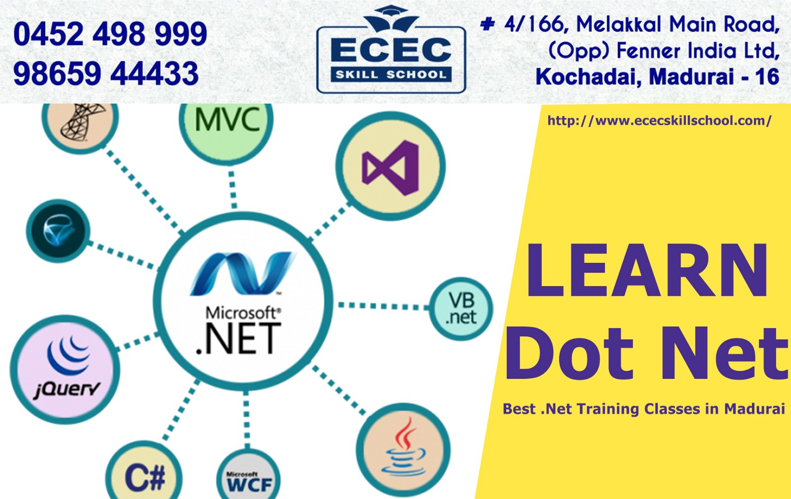 Dot Net Certification Course Training In Madurai
