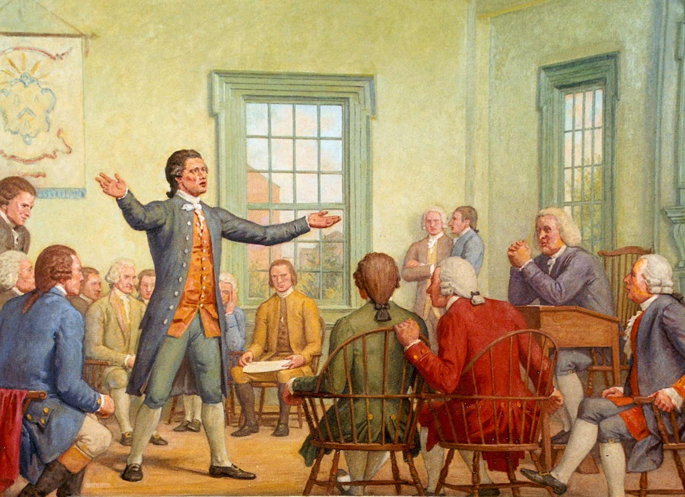 1774 >> Otd In History September 5 October 26 1774 The First Continental