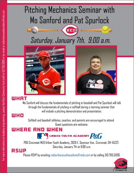 Special Events And Seminars P Amp G Mlb Cincinnati Reds
