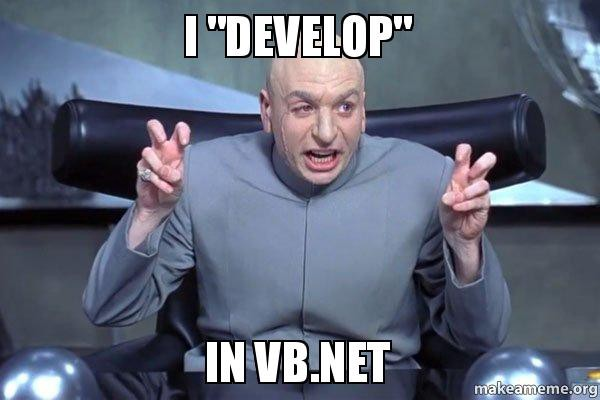 How VB.NET was resurrected and why it's more important than you think.