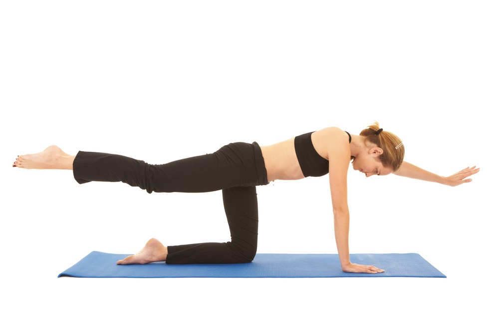 How to Perform the Pilates Single Leg Circle