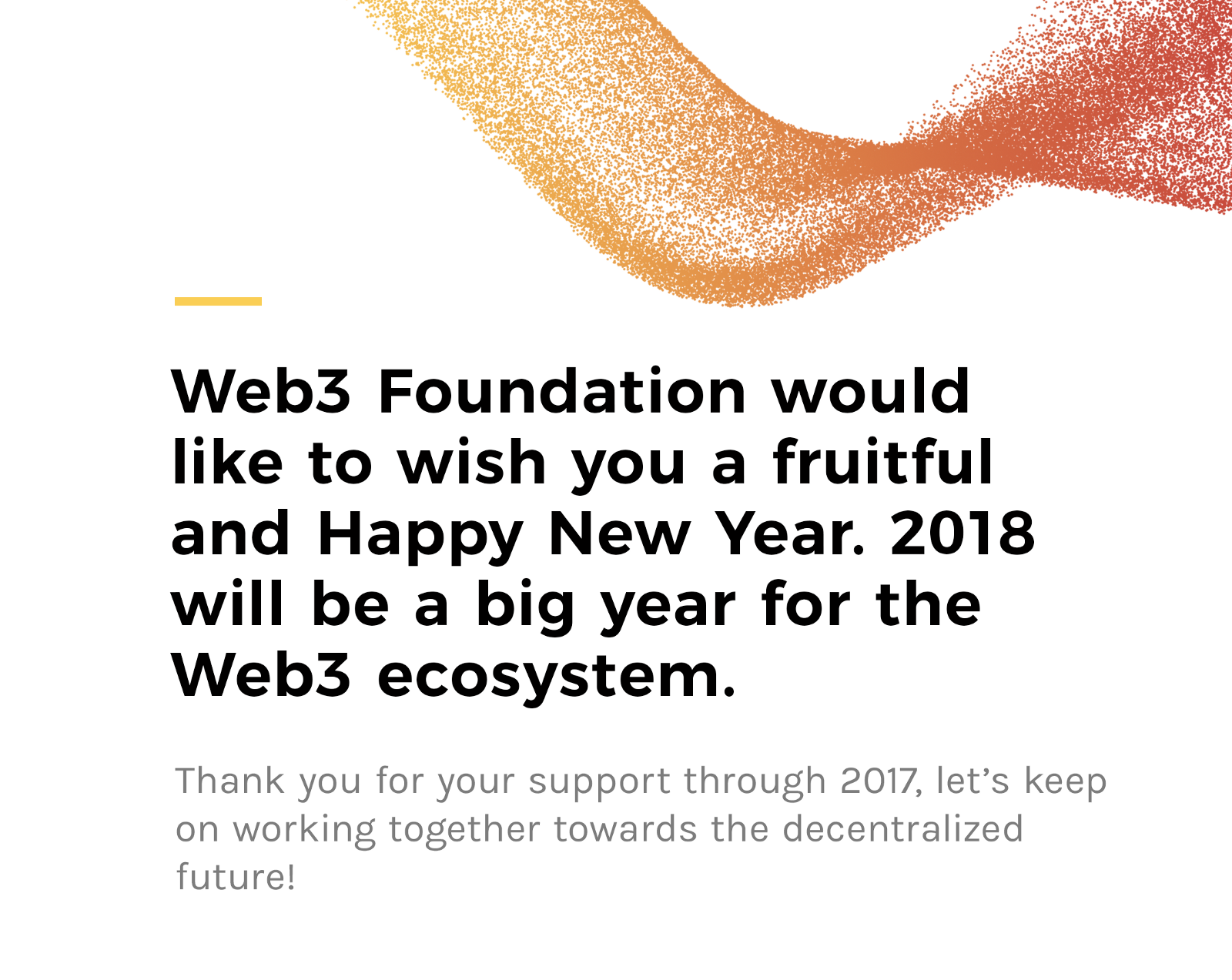 New year, new beginning – Web3 Foundation – Medium