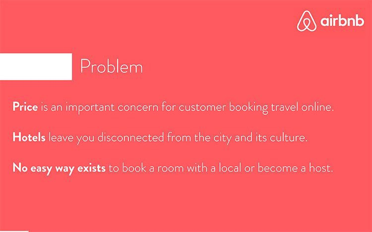 Airbnb Pitch Deck Teardown And Redesign Slidebean Medium - Airbnb pitch deck template