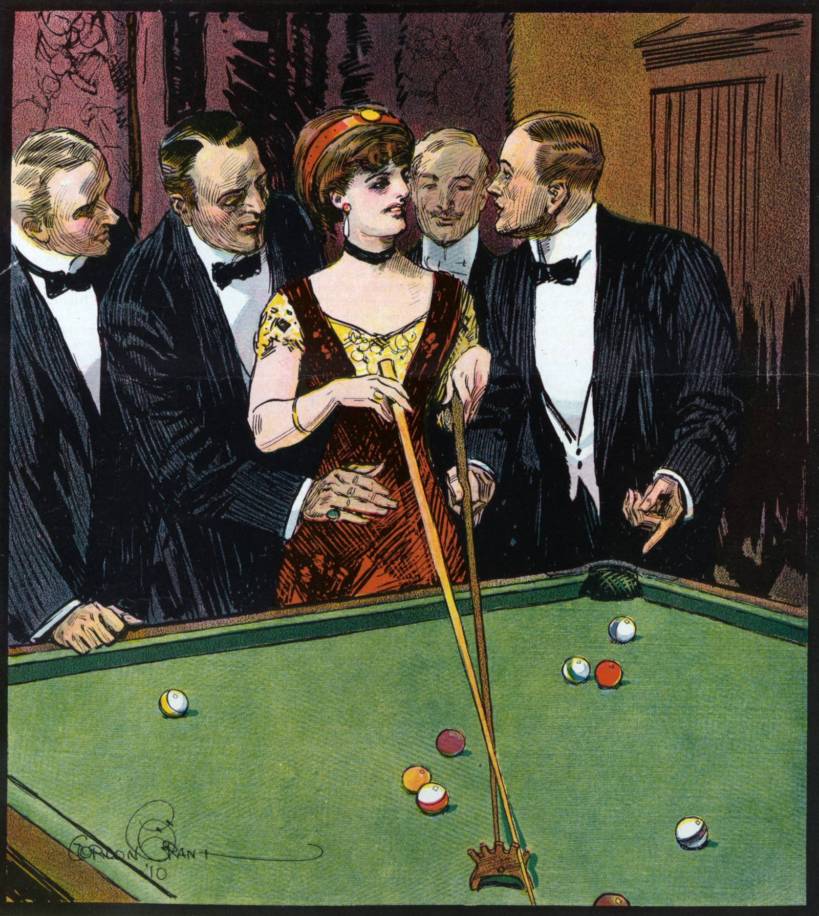 Images of the american pool hall show a man s world of for Pool man show