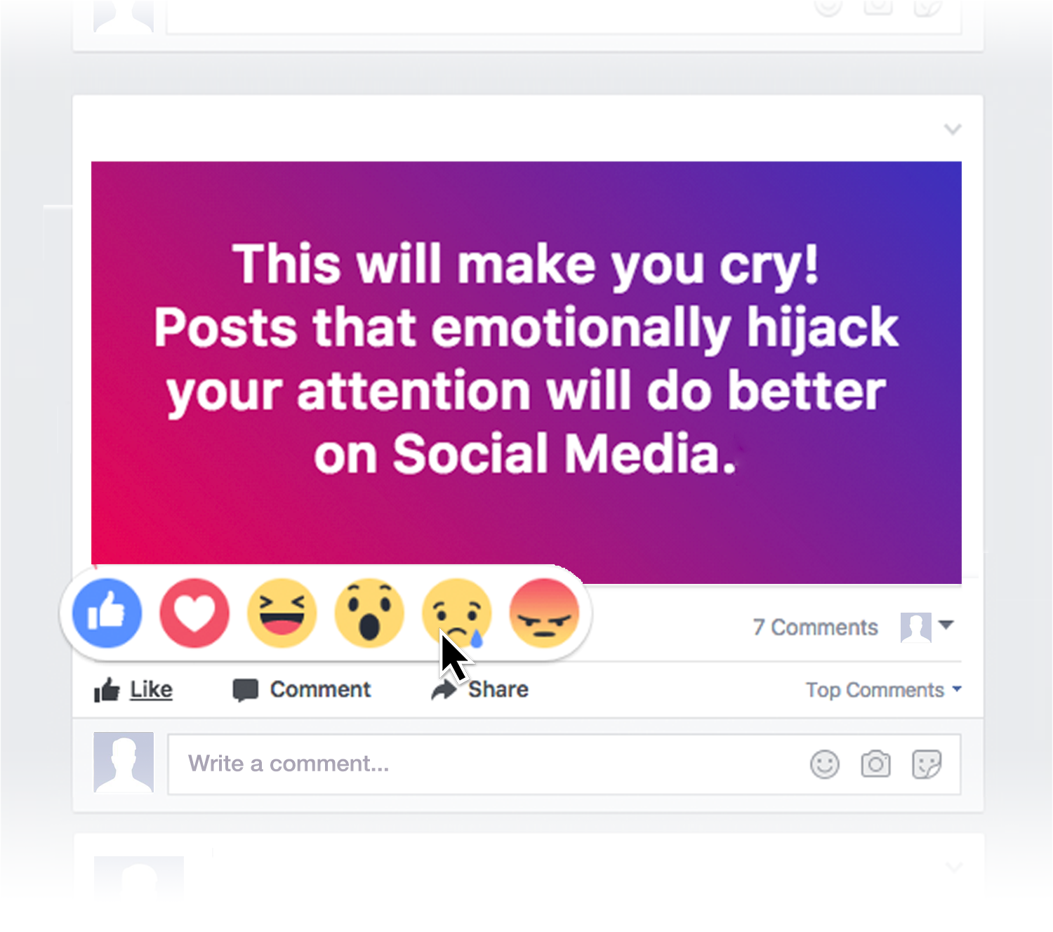 This is how your fear and outrage are being sold for profit emotional responses are one of the most prominent ways to gauge the value of a post and the easiest things for the news feed editor to map measure aljukfo Choice Image