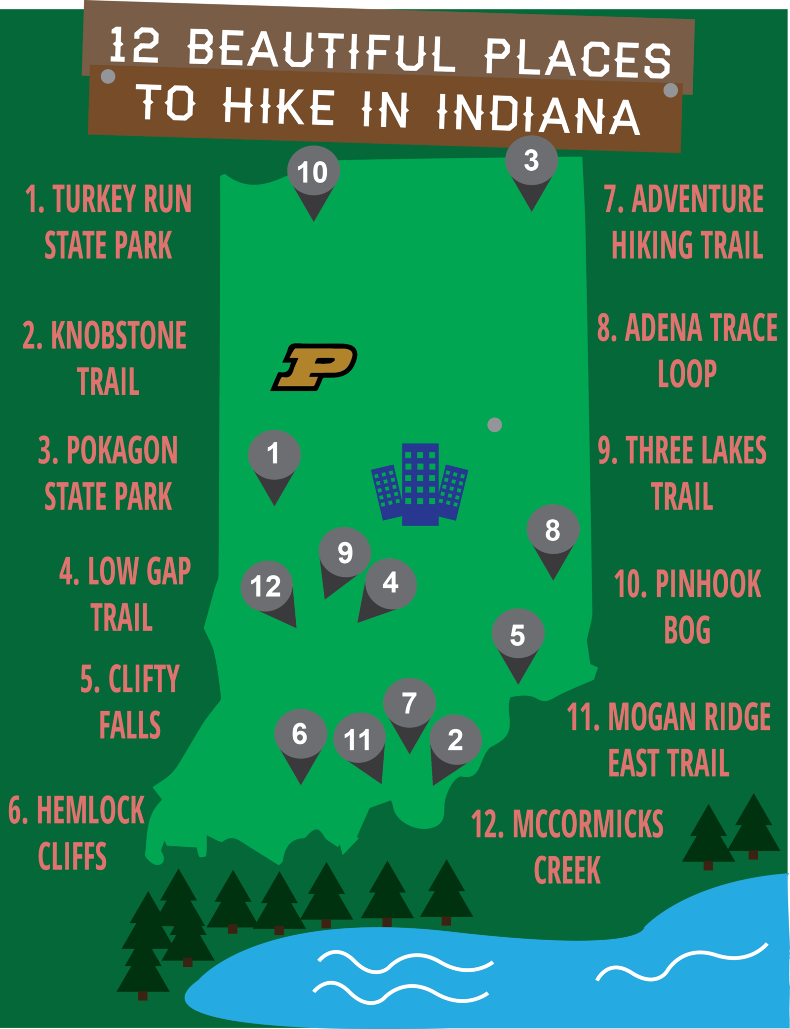 Best Places To Go Hiking In Indiana Best Place 2017