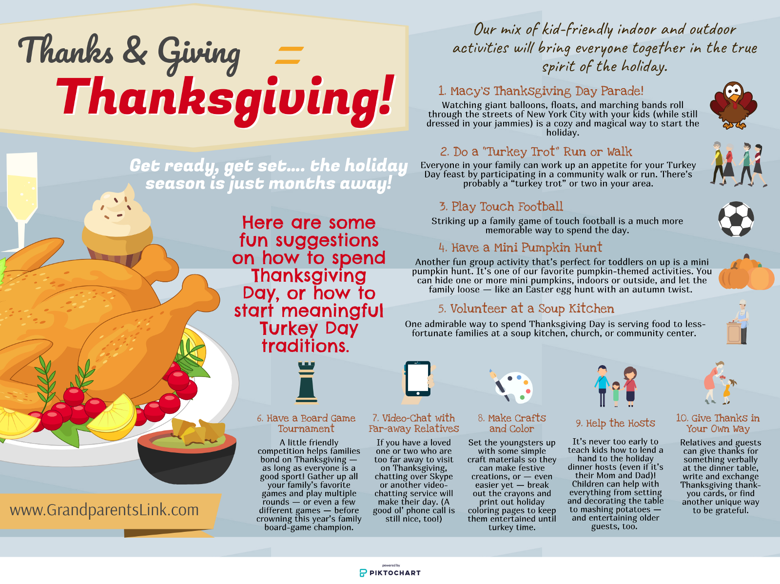 Thanks & Giving = Thanksgiving! – Grand Parents Link – Medium