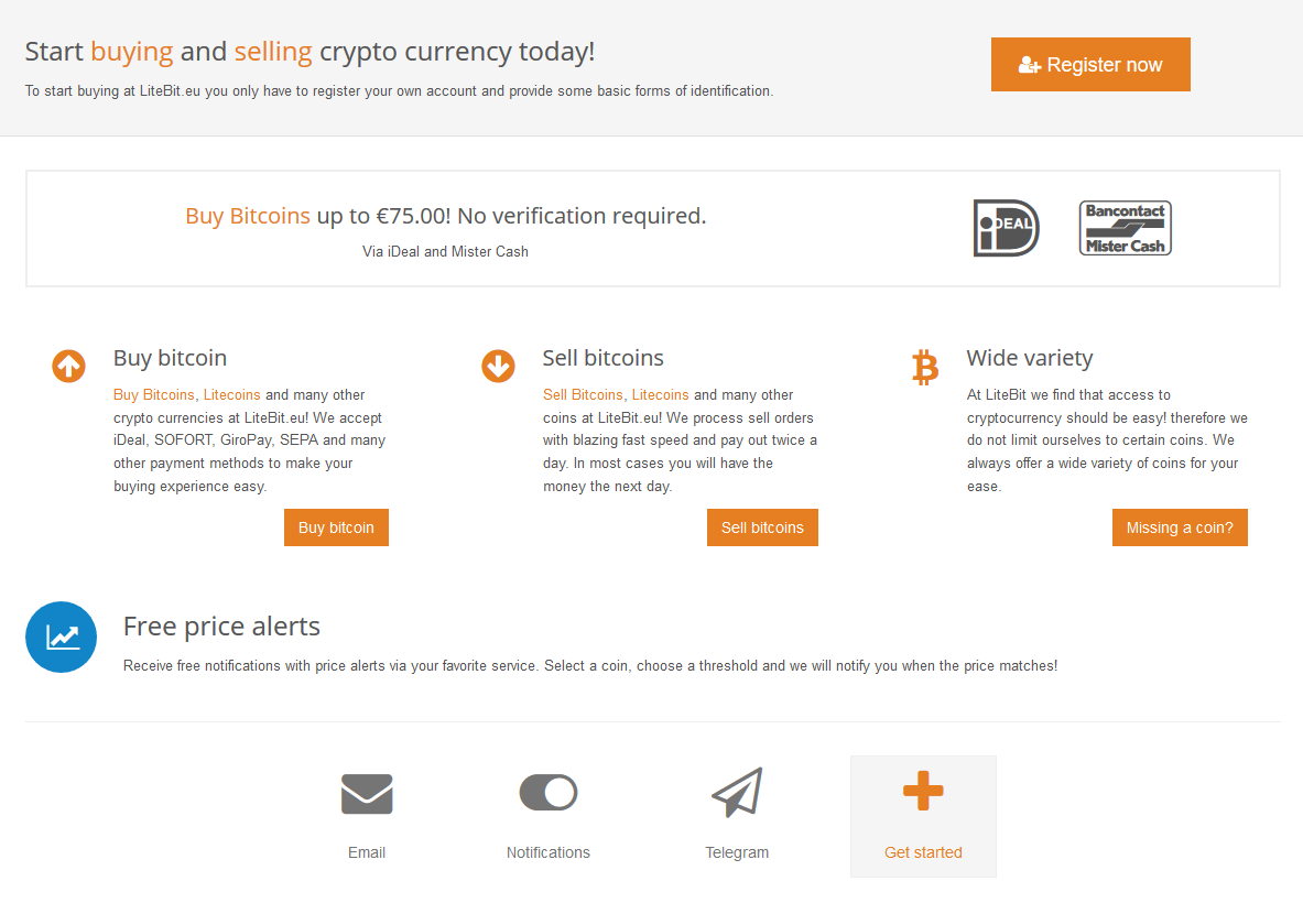 Buy bitcoin and okcash with sofort giropay and sepa at europes litebit offers different services like buysell cryptocurrencies with fiat cryptocurrency wallets and price alarms among others ccuart Images