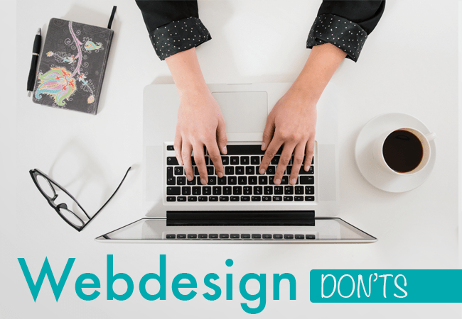 9 Web Design Mistakes You Should Never Make