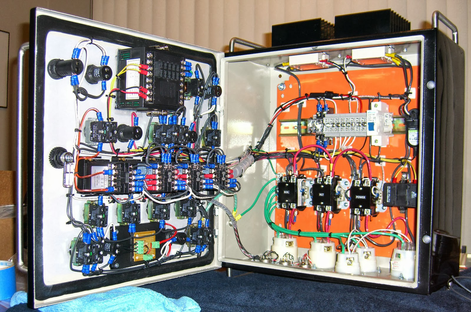 Control Panels Manufacturer In India Prk Fabricators Medium Electrical Wiring System Panel