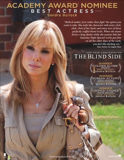 The Sandra bullock blind side