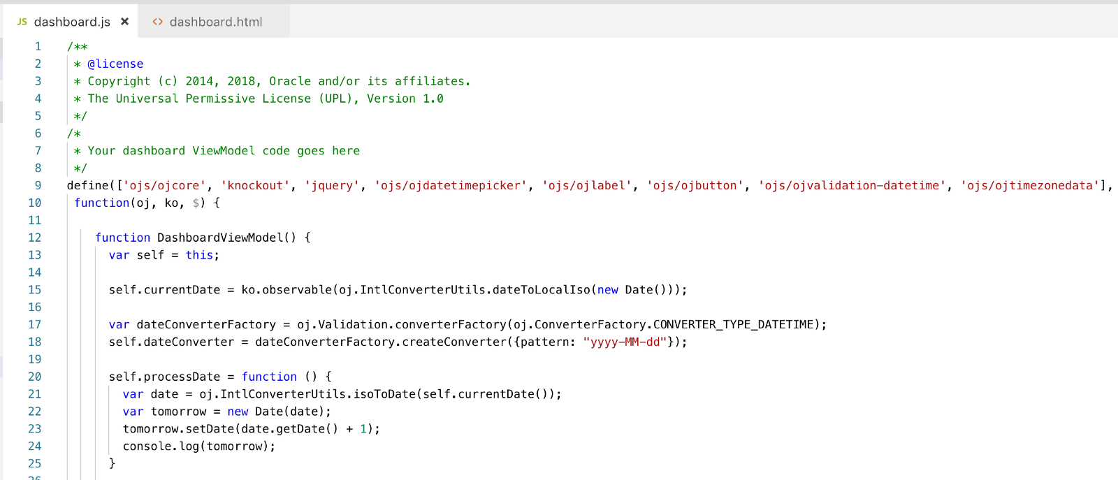 This Variable Is Initialized From Cur Date Converted To Local Iso Converter Configured With Pattern In The Js Method Where Tomorrow