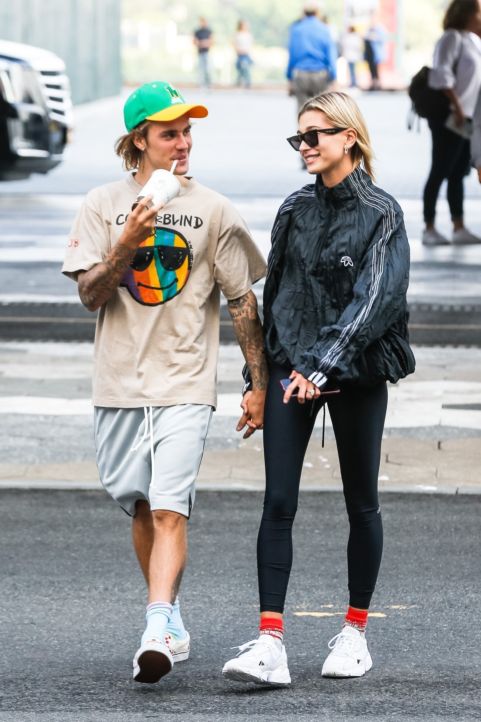 214f8839fe5 Which Designers are Justin Bieber and Hailey Baldwin wearing in ...