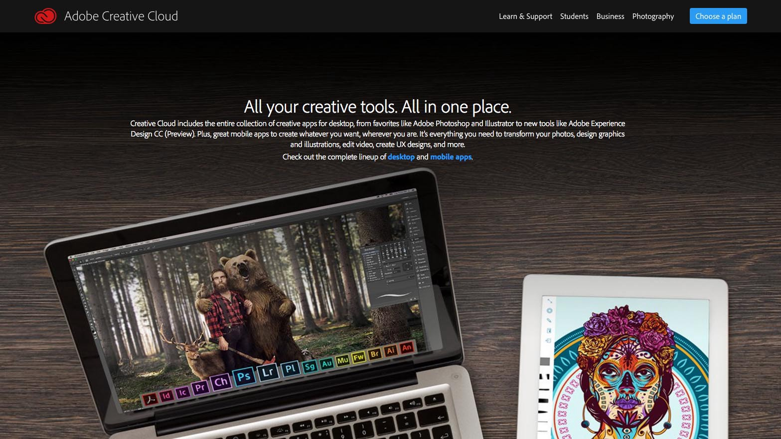 Image How To Brand Yourself A: Adobe Creative Cloud