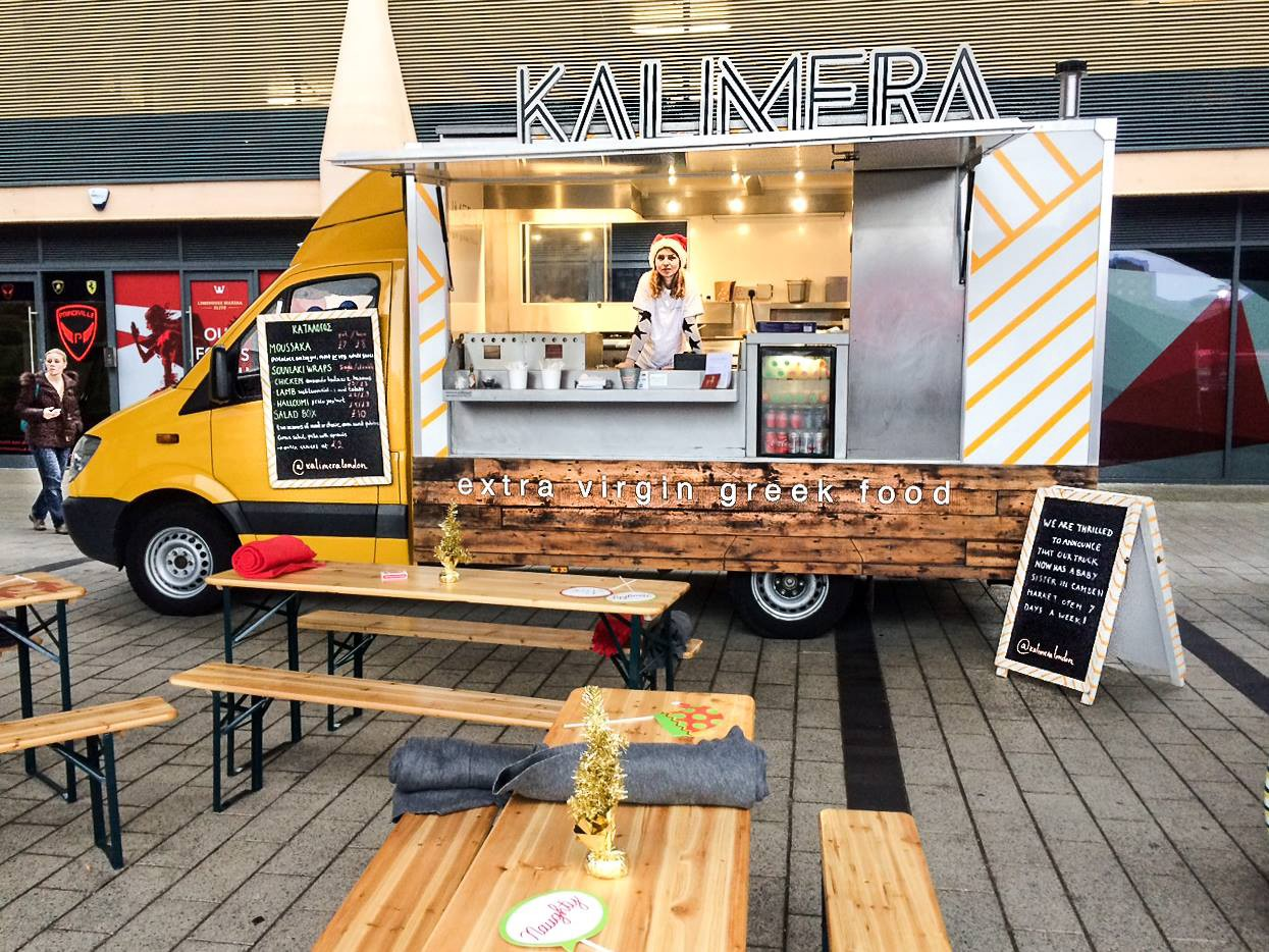 Kalimera And Their Beautiful Van Are On A Mission To Contemporise Greek Gastronomy For The Streets Of London Theyve Selected Dishes That You Might