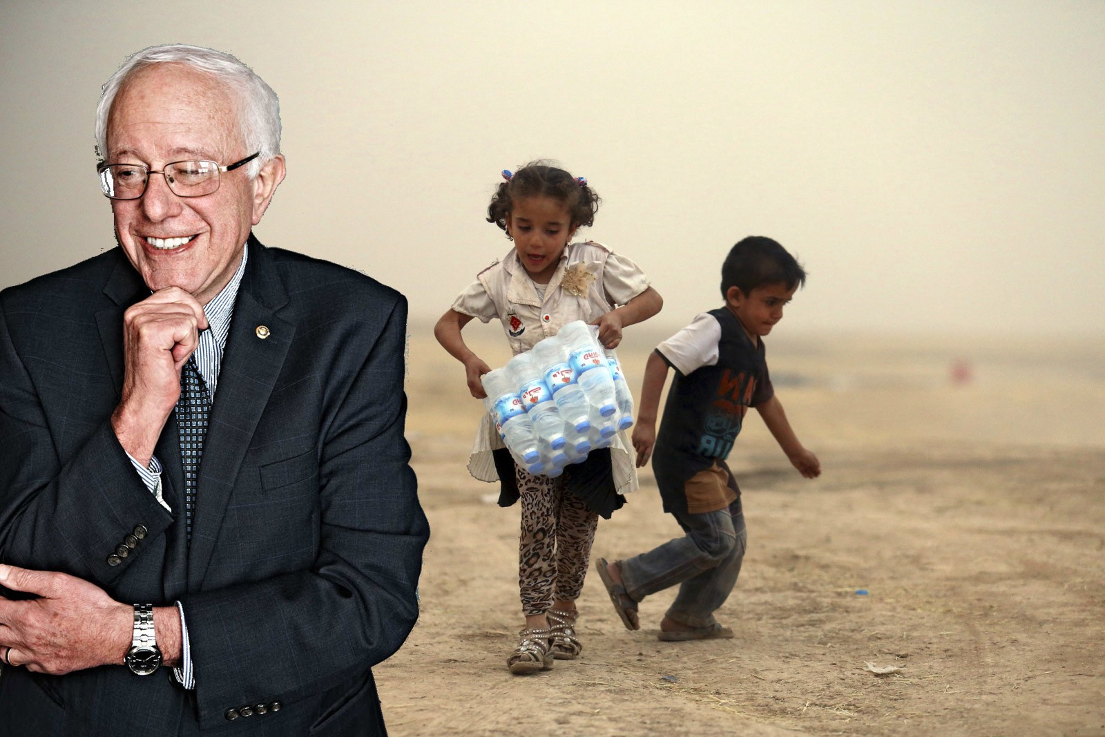 Bernie Sanders really, really, wants you to know that he voted against the 2003 Iraq War and Hillary Clinton voted for it. He's mentioned in it every single ...