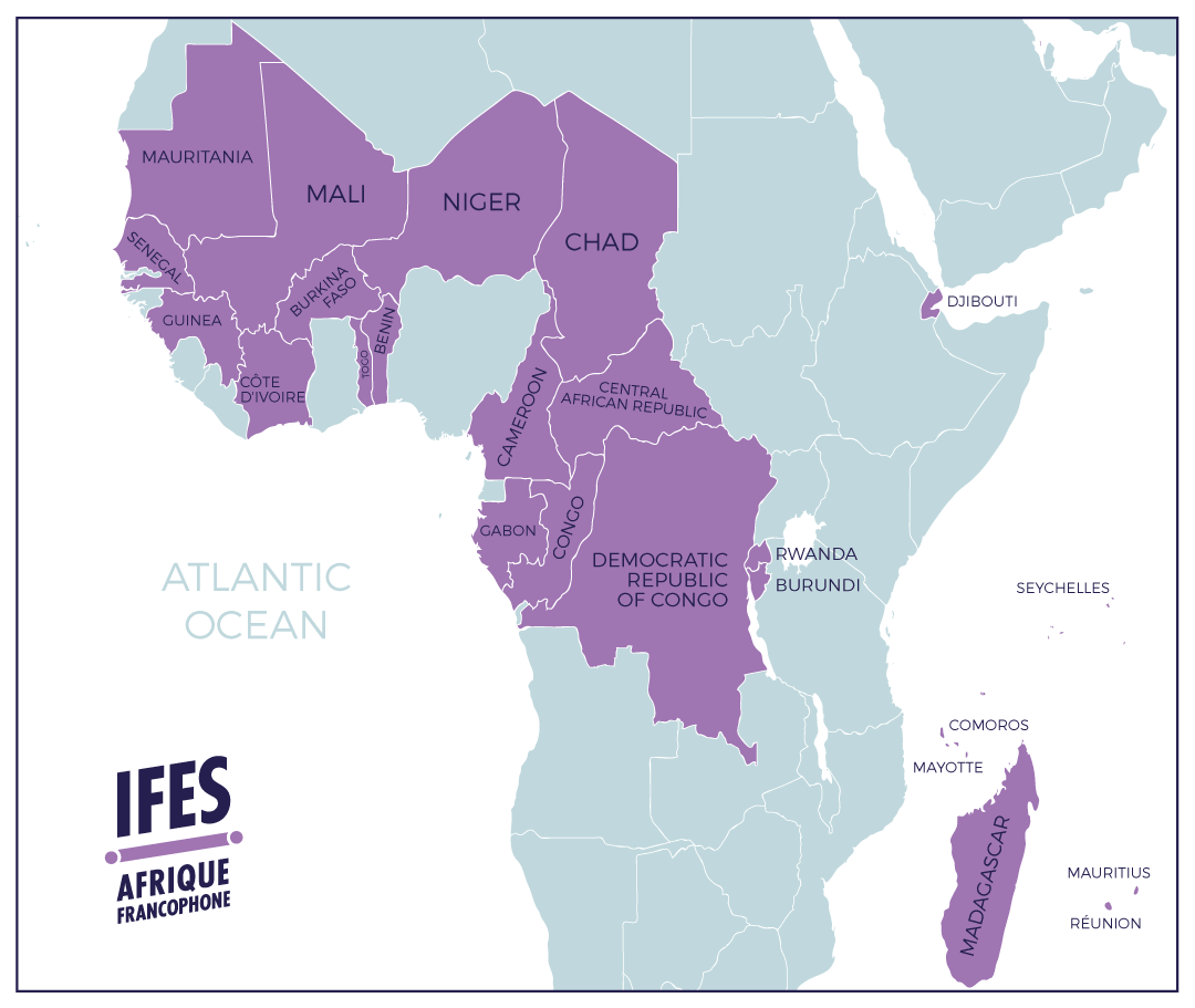 French Africa Map.Ifes Francophone Africa Week Ifes Conexion
