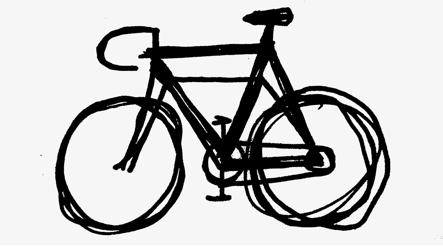 This is a graphic of Fan Bike Wheel Drawing