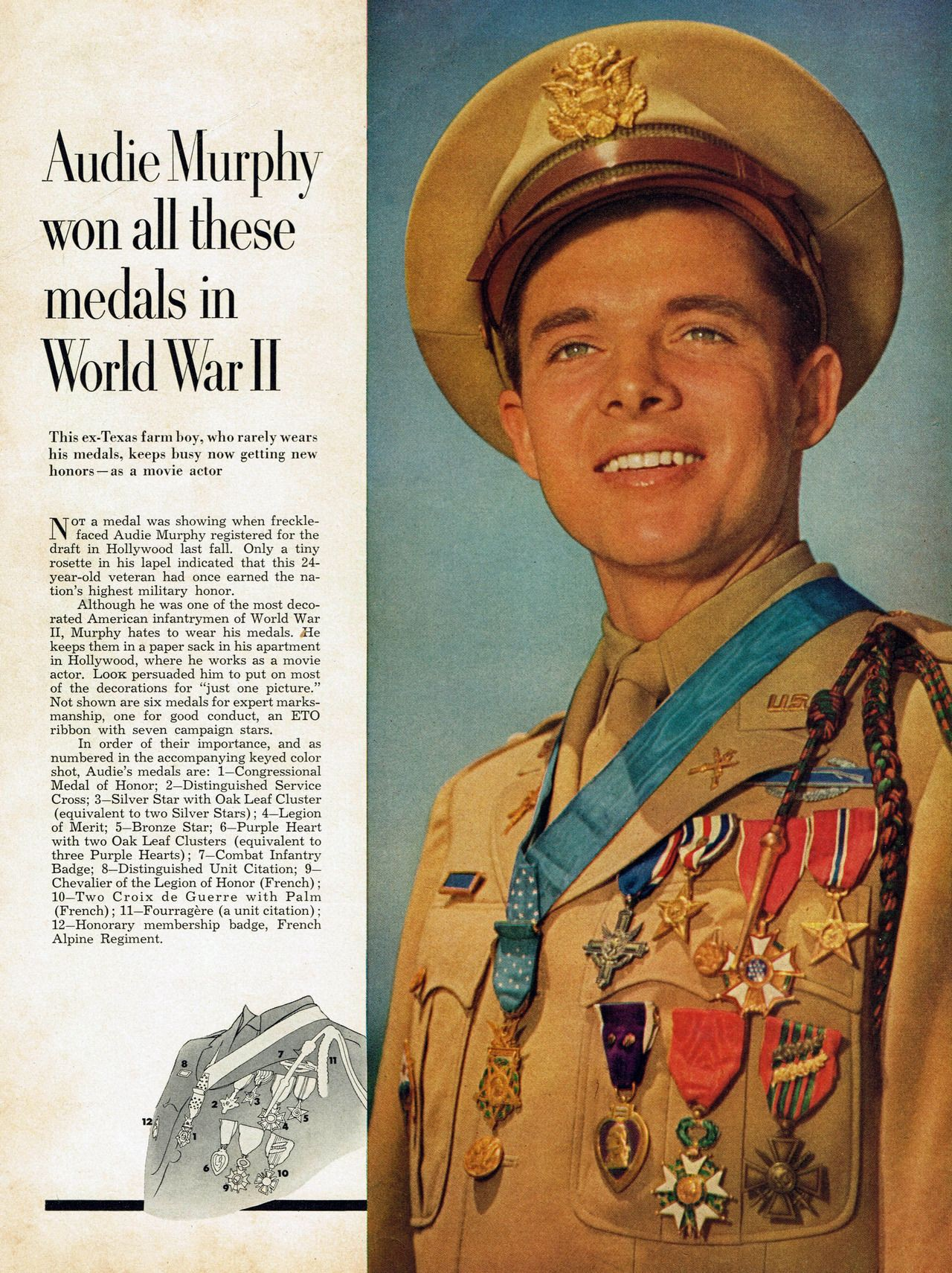 Uncovering Resilient American Soldier Audie Murphy
