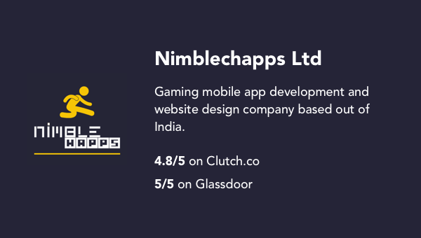 The best mobile app development agencies in the world for every budget who they are for companies on a budget india based game development company nimblechapps may provide a great alternative to high end mobile dev agencies malvernweather Choice Image