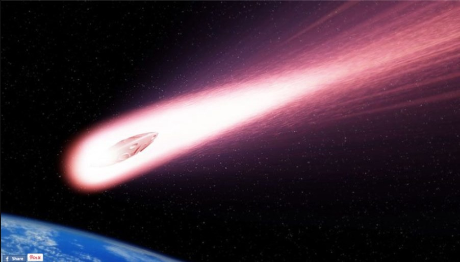 DID A CRASHING UFO CAUSE THE RECENT SIBERIAN EXPLOSION?