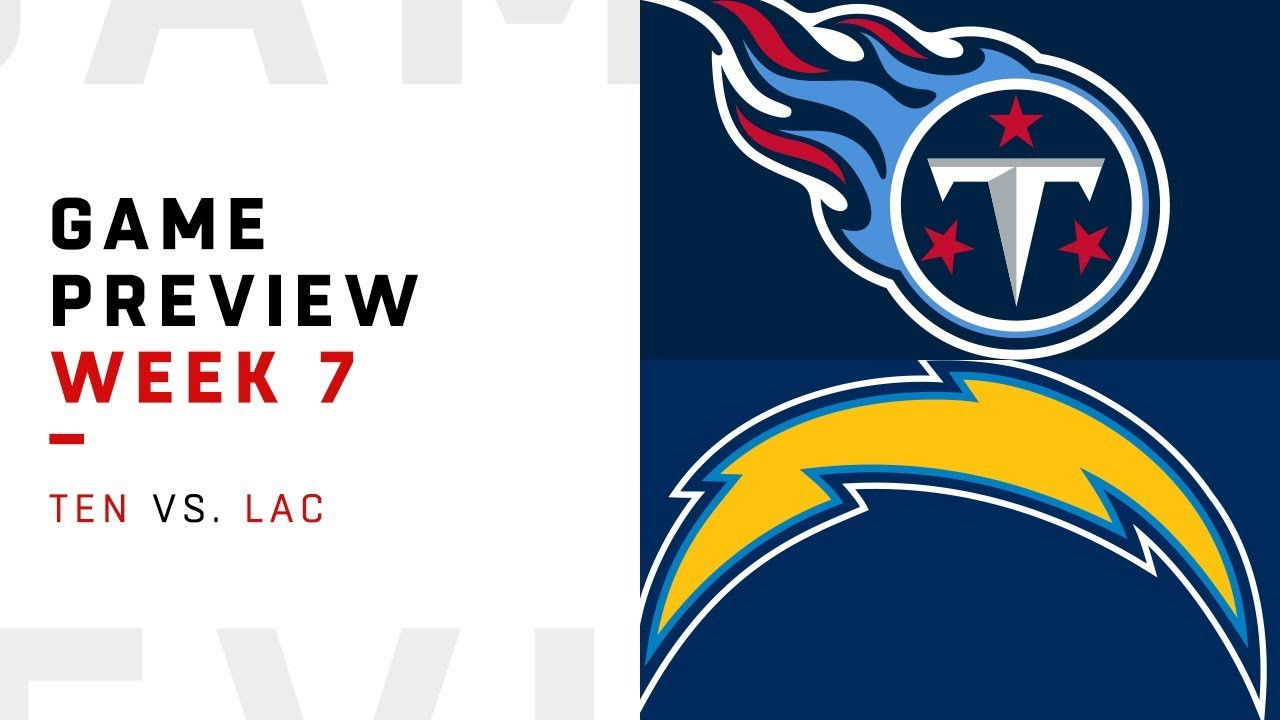 cee373a0233 Tennessee Titans (3–3) at Los Angeles Chargers (4–2) By Craig Tucker  (jctucker3) The Titans and Chargers face off in London for a crucial Week 7  matchup.