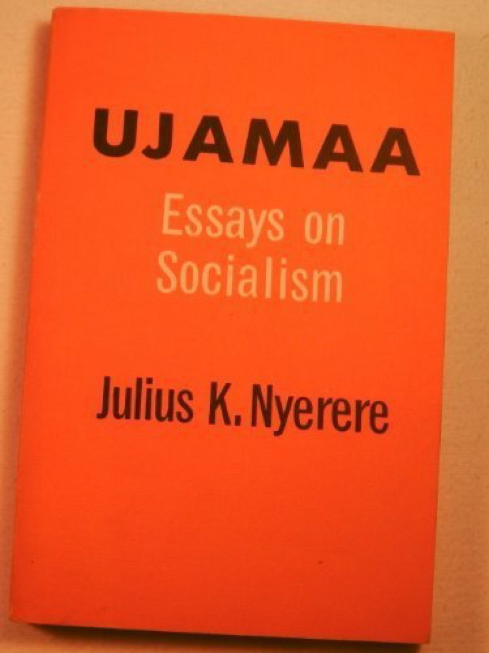 julius nyerere essays on socialism A pronounced pan-africanist, nyerere led tanganyika to independence and later  unified it with  julius nyerere - architect of african socialism.