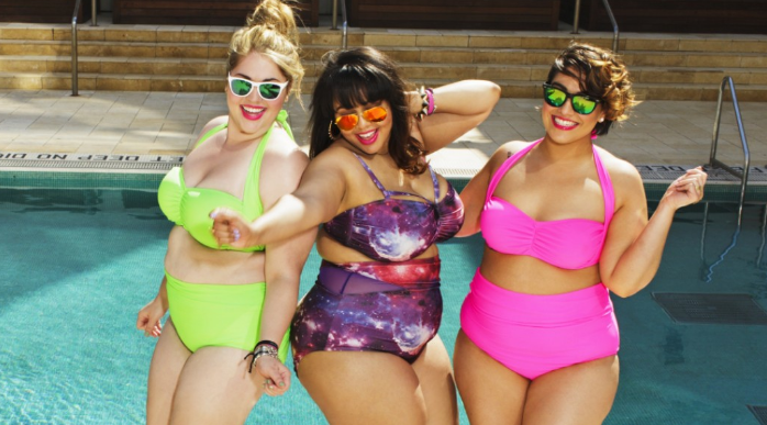 """8b783a220d2 When plus-sized fashion blogger Gabi Gregg and clothing line  SwimSuitsForAll debuted the """"fatkini"""" this spring"""