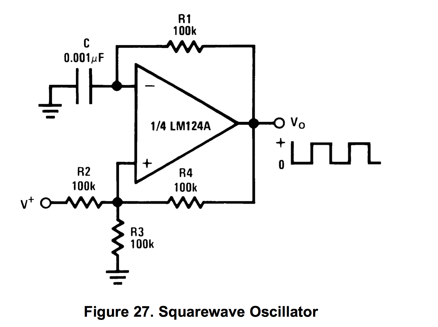 Crystal Oscillator Tester Frequency Counter Kit Review Op Amp Single Power Supply If You Look Closely May Notice The Voltage Divider Pointed Out In Electro Tech Online Square Wave Generator Forums