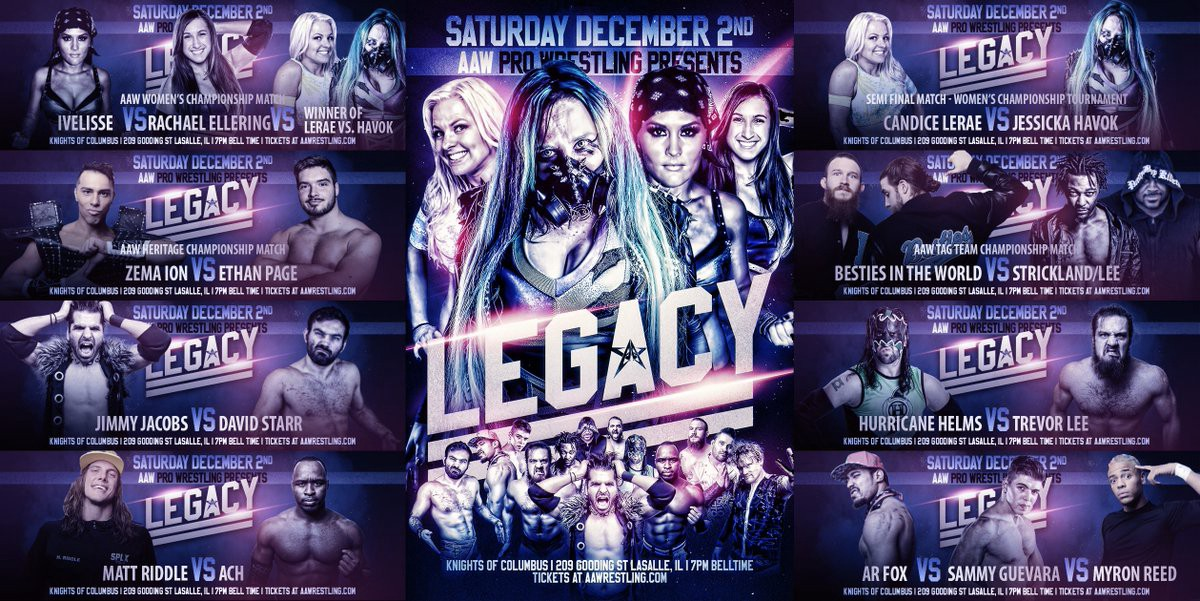 Aaw December 2nd 2 Heels And A Face Wrestling Podcast