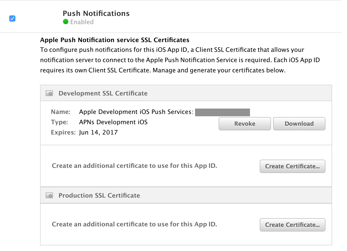 Ios app certificates and distribution nagendra posani medium creating certificate to bind the apns to push notification server xflitez Image collections