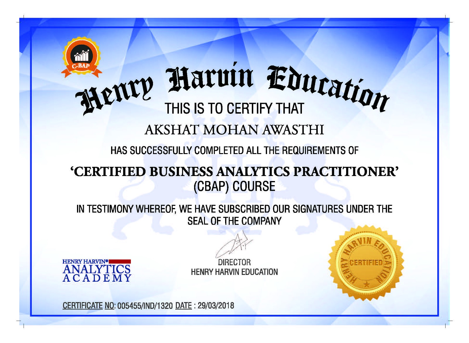 hence it is recommended that you should definitely consider getting an analytics certification for mechanical engineers