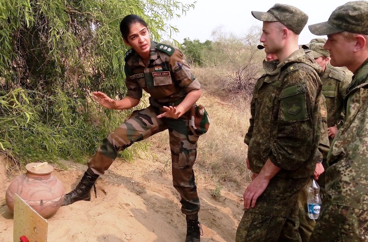 Narrowing Gender Biases In Armed Forces Indian National