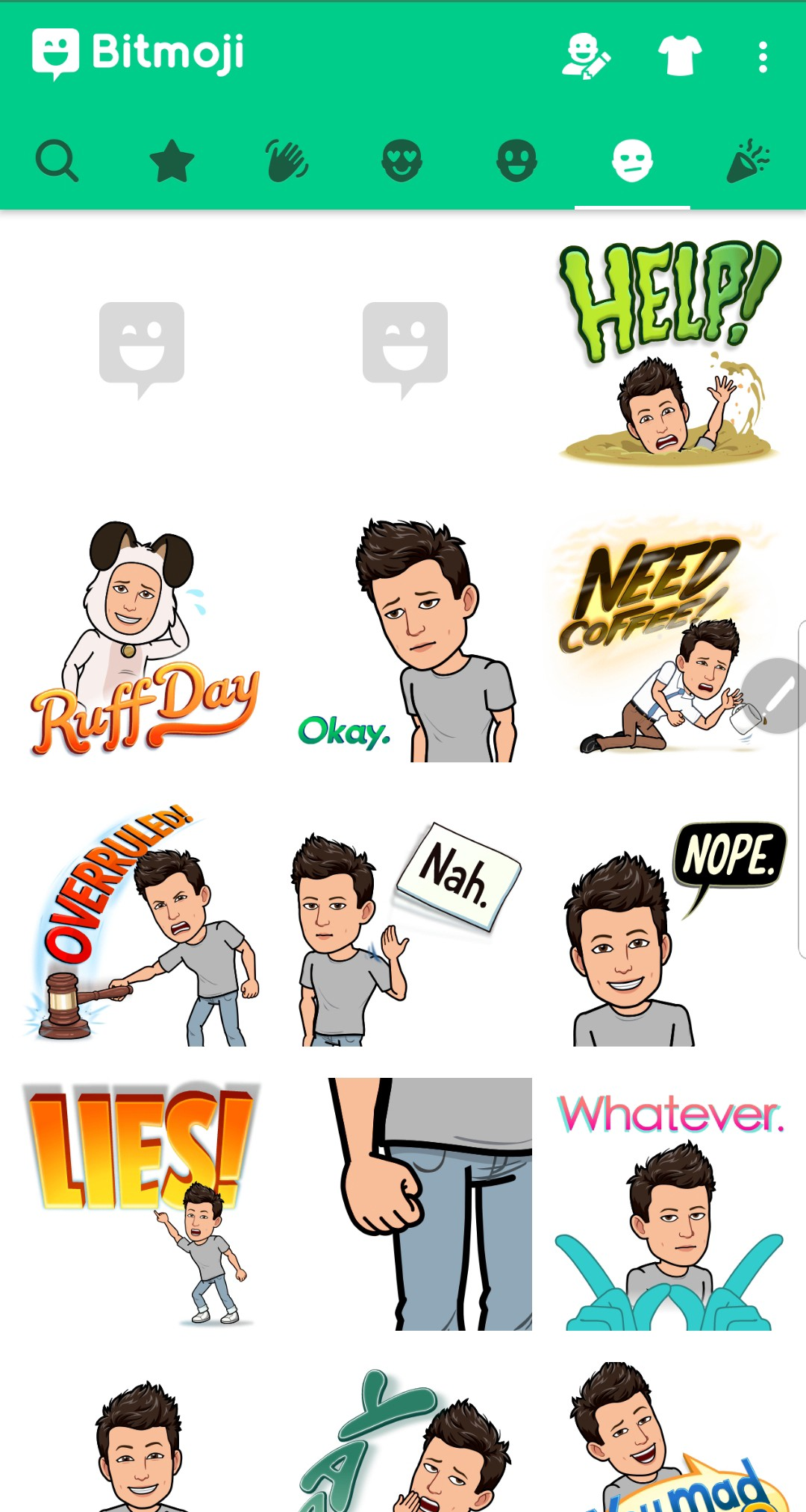 3be179ad290 Once you have given Bitmoji some idea about how you look, you can then  select a number of characteristics in the style of your visible identity.  This ...