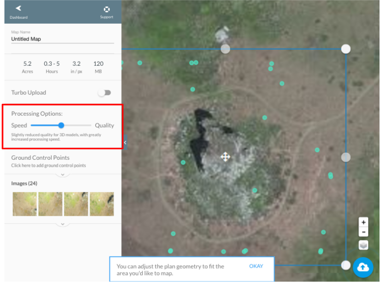 Once Your Images Are Uploaded The Dronedeploy Map Engine Creates A Three Dimensional Point Cloud Based On Your Images From There We Use That Point Cloud