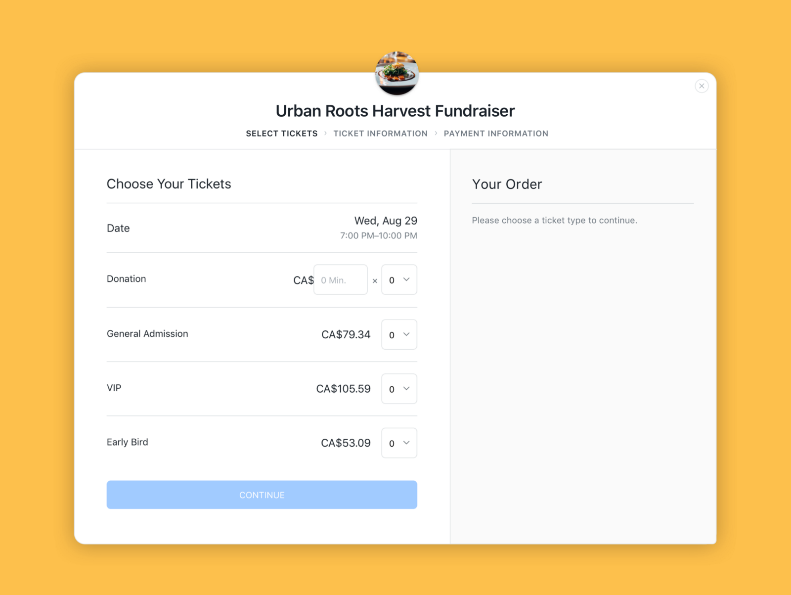 use multiple ticket types to make your event a success