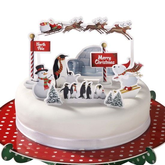 christmas wedding cake decorations festive edible cake decorations in surrey 12832