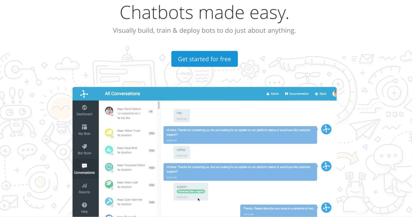 How to create a bot