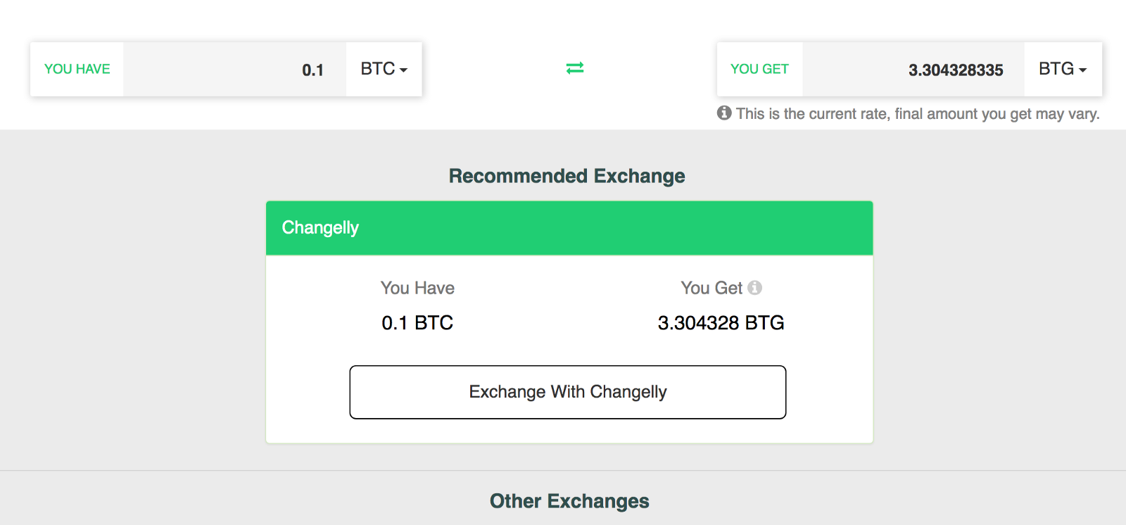 How to buy bitcoin gold btg from coinswitch newbium provide your bitcoin gold btg wallet address you will receive your btg coins in that wallet after the exchange completes please double check the address ccuart Images