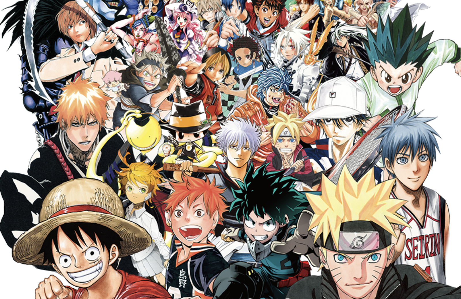 Shonen Jump 50th Anniversary Exhibition VOL3 Features Works Published From 2000s To The Present Day A Number Of Original Drawings And Items