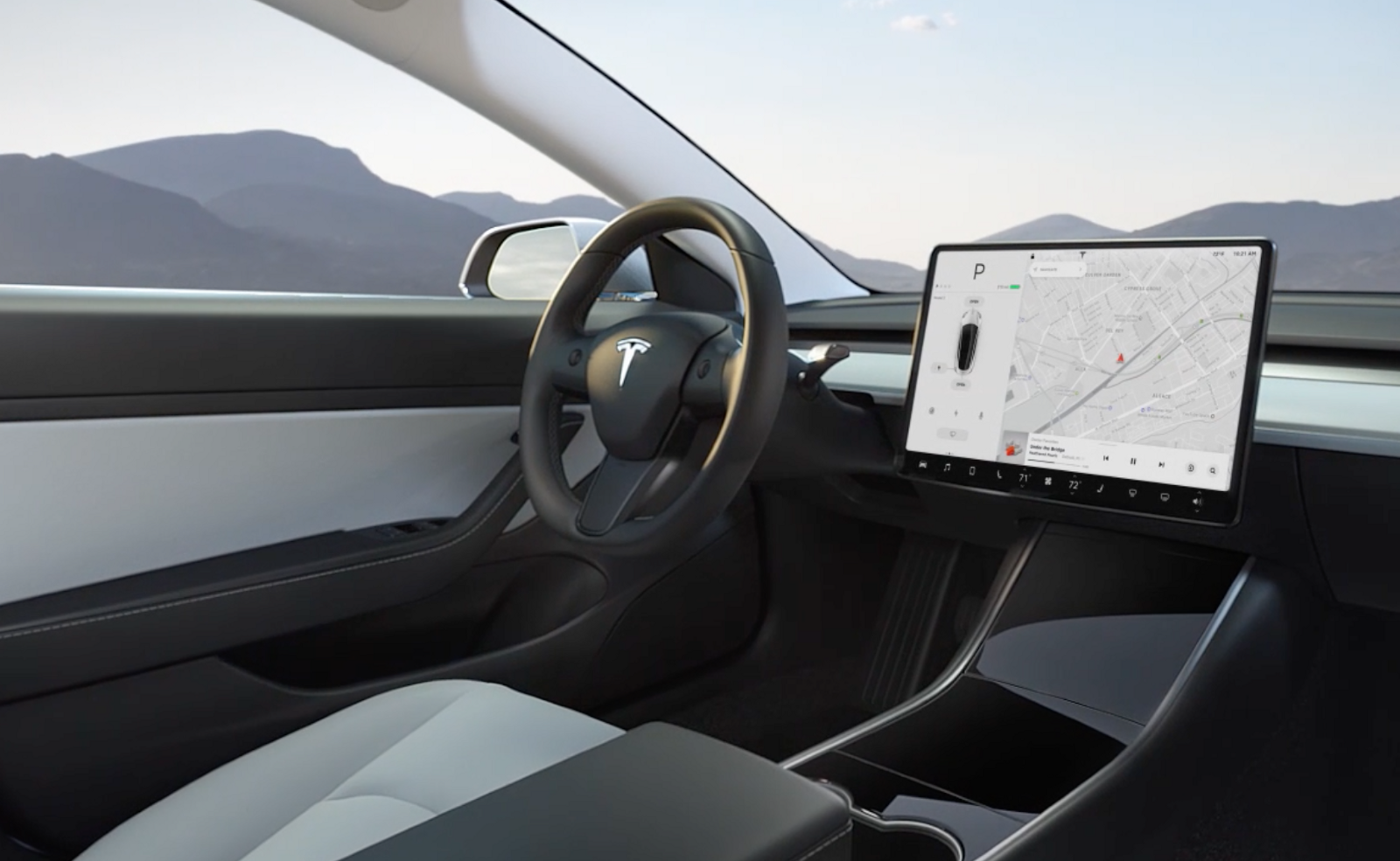 Tesla is most trusted brand in consumers poll for self ... |Self Driving Tesla Interior