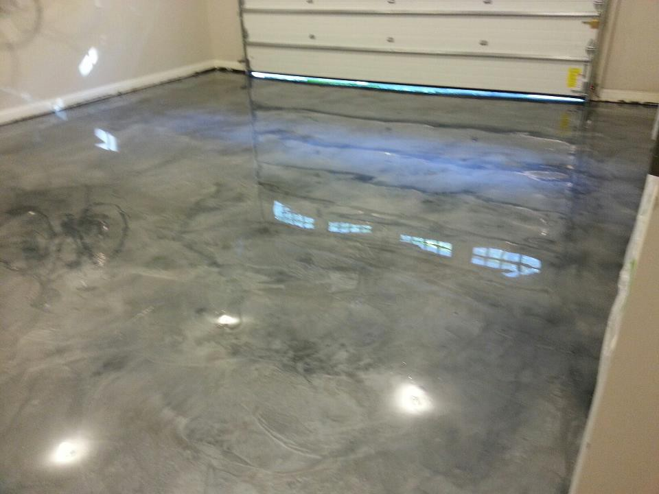 Floor maintenance recommendations for concrete garage for Garage floor maintenance